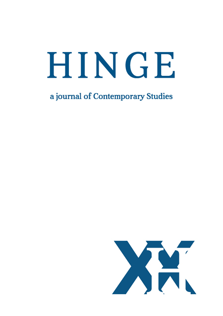 Hinge: A Journal of Contemporary Studies