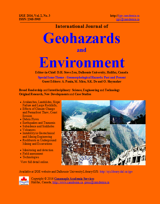 Geomorphological Hazards: Past and Present