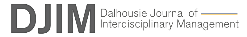 Dalhousie Journal of Interdisciplinary Management